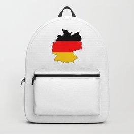 German Flag Map Backpack