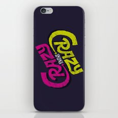 Crazy Knows Crazy iPhone & iPod Skin