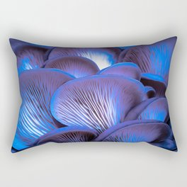 Oyster Mushrooms at Night Rectangular Pillow