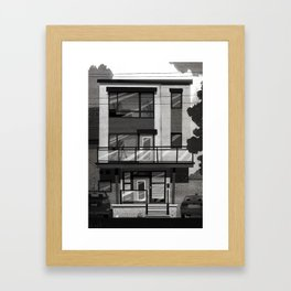Places I've Lived Series - 12 Framed Art Print
