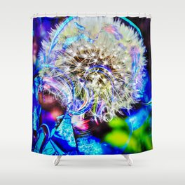Abstract - Perfektion - Pusteblume Shower Curtain