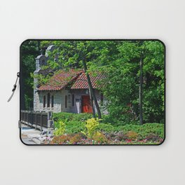 Lourdes University-  Behind the Portiuncula  Chapel Laptop Sleeve