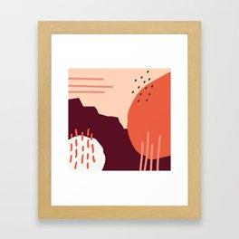 Coit Pattern 66a Framed Art Print
