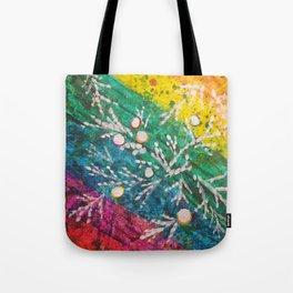 Leaves on the World Tree: Brahui Juniper Tote Bag