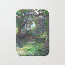 Elven Forest Bath Mat