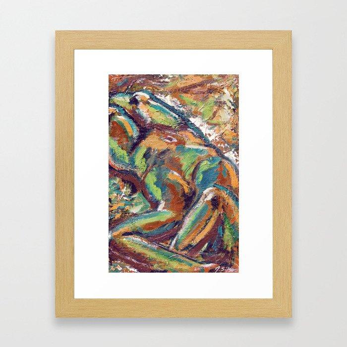 Embodiment Framed Art Print