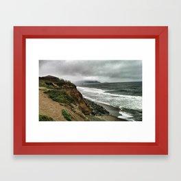 Storm Front Framed Art Print