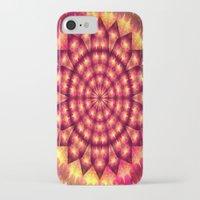 hippie iPhone & iPod Cases featuring Hippie Star by NatalieCatLee