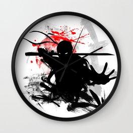 Japan Ninja Wall Clock