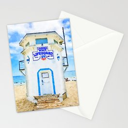 Laguna Beach Lifeguard Stand Stationery Cards