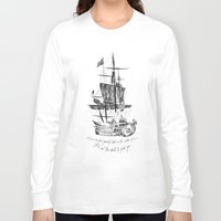 larry Long Sleeve T-shirts featuring Larry tattooes by Drawpassionn