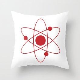 The Big Bang Theory - Atom Throw Pillow