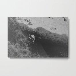 A Place to Bath Metal Print