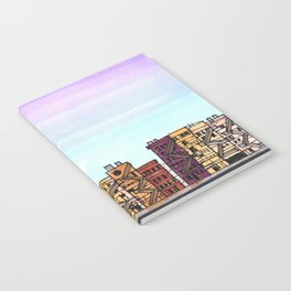 New York Purple Sky Notebook