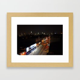 A Brooklyn Street Framed Art Print