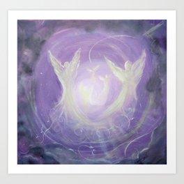 Angel Song Art Print