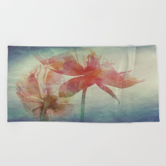 Kissed by the Summer Sun Beach Towel