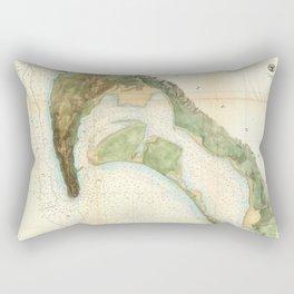 San Diego Bay 1857 Rectangular Pillow