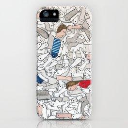 La boîte à joujoux 01 iPhone Case