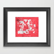 amor todo invencible Framed Art Print
