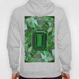 EMERALD GREEN MAY BIRTHSTONES ART Hoody