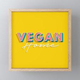 Vegan Home Framed Mini Art Print
