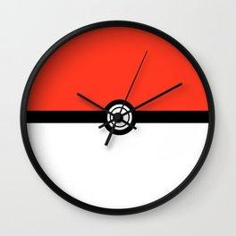 Poké Ball. Wall Clock