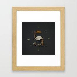 5 Number Framed Art Print