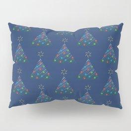 Christmas Trees Pattern Pillow Sham
