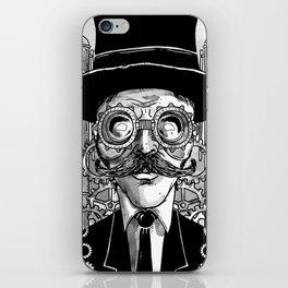 Steampunk Man iPhone Skin
