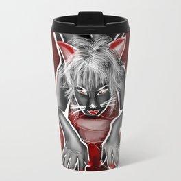 Kitty Girl Travel Mug
