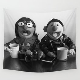 Modern Puppet Gothic Wall Tapestry