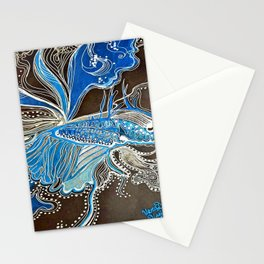 Moonlight Betta Fish Stationery Cards