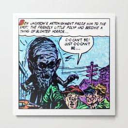 The Friendly Little Polyp Metal Print