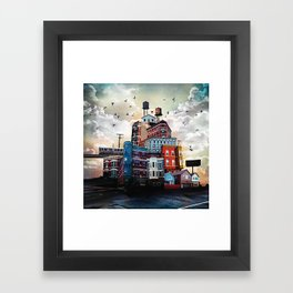 Urban Perspective Framed Art Print