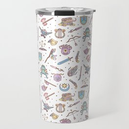 Cute Dungeons and Dragons Pattern Travel Mug