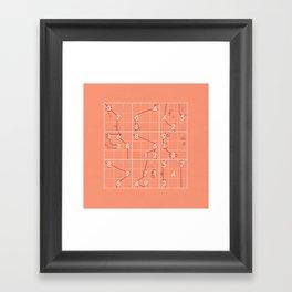 Sudoku! Framed Art Print