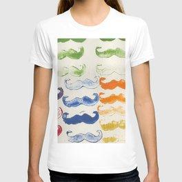 Mustaches T-shirt