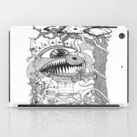 gore iPad Cases featuring Monster's Garden! by Davide Vitiello