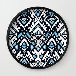 Aztec ornament Wall Clock