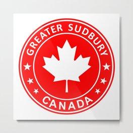 Greater Sudbury, Canada Metal Print