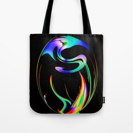 Abstract Perfection 13 Fire Tote Bag