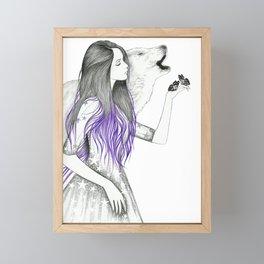 Wish On A Star Framed Mini Art Print