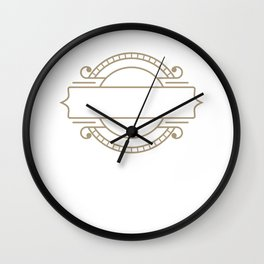 Journalist Mission Journalism Writer Author Gift Wall Clock