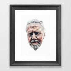 Worn Framed Art Print