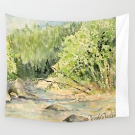 Riverside Rest Wall Tapestry