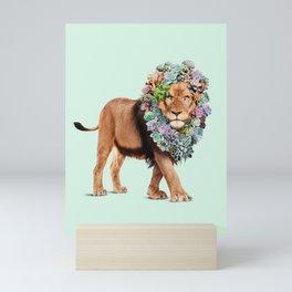 SUCCULENT LION Mini Art Print