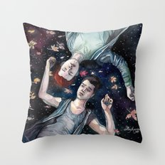 Sorry. I'm late. Throw Pillow