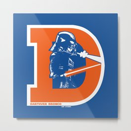 Darthver Bronco Metal Print