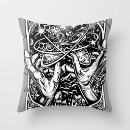 cat's cradle - vonnegut Throw Pillow